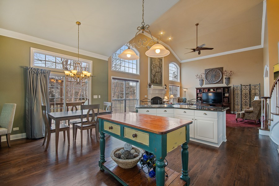 Real Estate Photography - 1508 Cocalico Court, Naperville, IL, 60563 - Perfect for entertaining being open to the FR