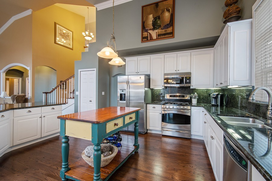 Real Estate Photography - 1508 Cocalico Court, Naperville, IL, 60563 - Wonderful working space & kitchen storage