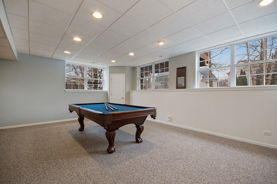Real Estate Photography - 1508 Cocalico Court, Naperville, IL, 60563 - Full look-out windows in the fabulous basement