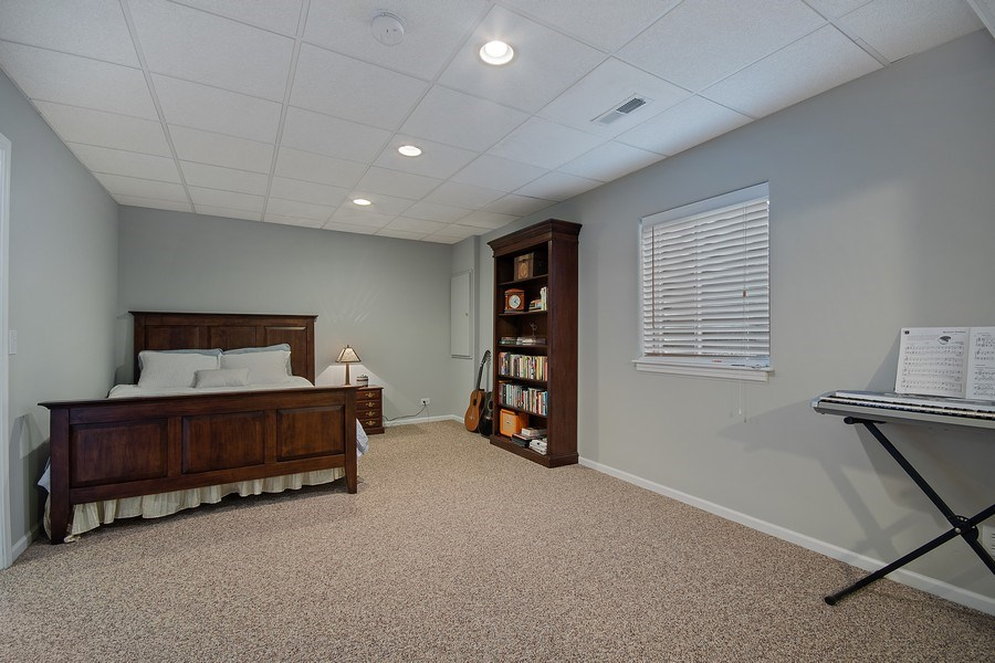 Real Estate Photography - 1508 Cocalico Court, Naperville, IL, 60563 - 5th BR for guests or in-laws (w/full bath)