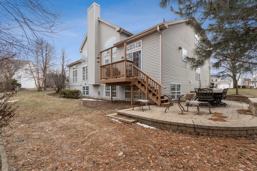 Real Estate Photography - 1508 Cocalico Court, Naperville, IL, 60563 - Private backyard on a quiet cul-de-sac