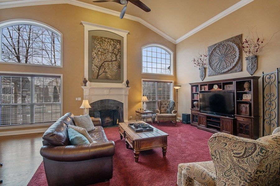Real Estate Photography - 1508 Cocalico Court, Naperville, IL, 60563 - Spectacular windows, gas FP & great comfort
