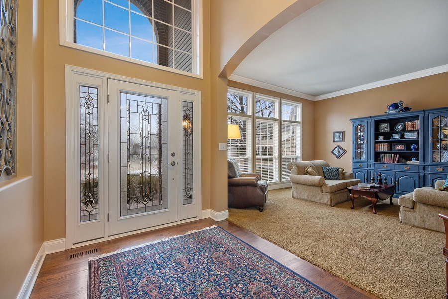 Real Estate Photography - 1508 Cocalico Court, Naperville, IL, 60563 - A welcoming 2-story entry