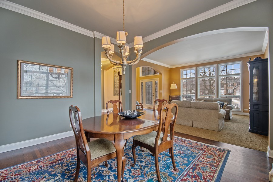 Real Estate Photography - 1508 Cocalico Court, Naperville, IL, 60563 - Arch room entries & crown detail
