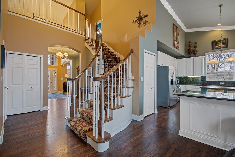 Real Estate Photography - 1508 Cocalico Court, Naperville, IL, 60563 - Darker tone refinished hardwood floors