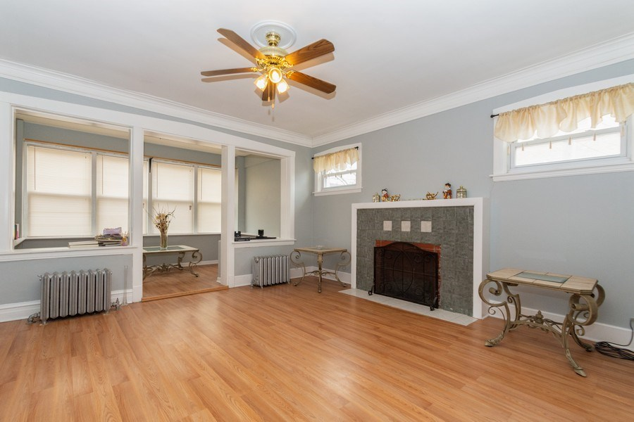 Real Estate Photography - 5844 S. Campbell Avenue, Chicago, IL, 60629 - 1st Floor unit - Living/Sun room