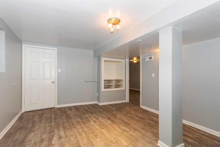 Real Estate Photography - 5844 S. Campbell Avenue, Chicago, IL, 60629 - Basement unit - Living room
