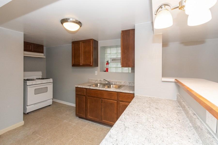 Real Estate Photography - 5844 S. Campbell Avenue, Chicago, IL, 60629 - Basement unit - Kitchen