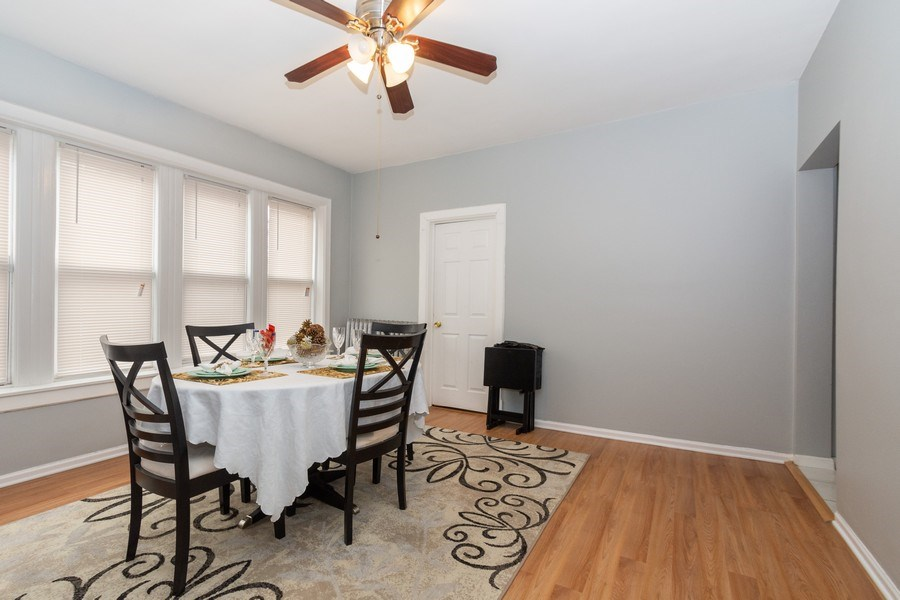 Real Estate Photography - 5844 S. Campbell Avenue, Chicago, IL, 60629 - 1st Floor unit- Dining room