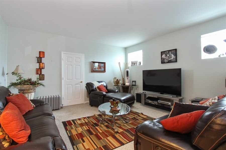 Real Estate Photography - 5844 S. Campbell Avenue, Chicago, IL, 60629 - Owner's unit 2nd floor- Living room