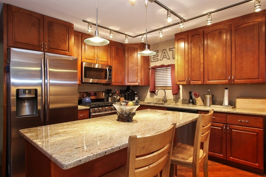 Real Estate Photography - 5844 S. Campbell Avenue, Chicago, IL, 60629 - Owner's unit 2nd floor-Kitchen