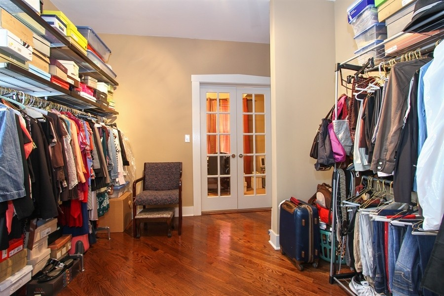 Real Estate Photography - 5844 S. Campbell Avenue, Chicago, IL, 60629 - Owner's unit 2nd floor - Wardrobe/bedroom
