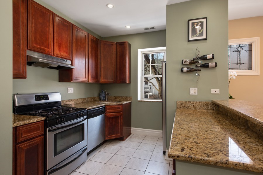 Real Estate Photography - 1265 W. Granville Avenue, Unit 1, Chicago, IL, 60660 - Kitchen