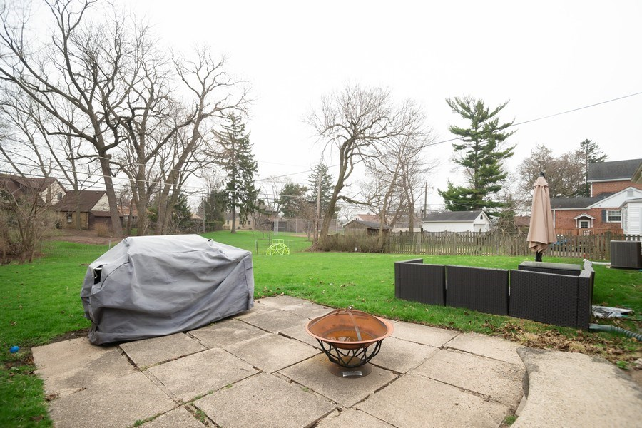 Real Estate Photography - 145 Cornell Avenue, Des Plaines, IL, 60016 - Back Yard