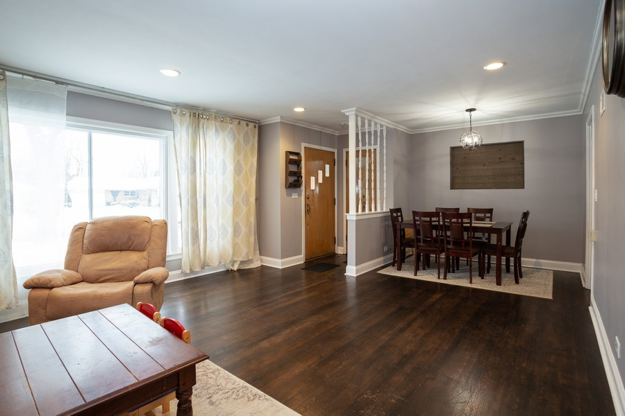 Real Estate Photography - 145 Cornell Avenue, Des Plaines, IL, 60016 - Living Room / Dining Room