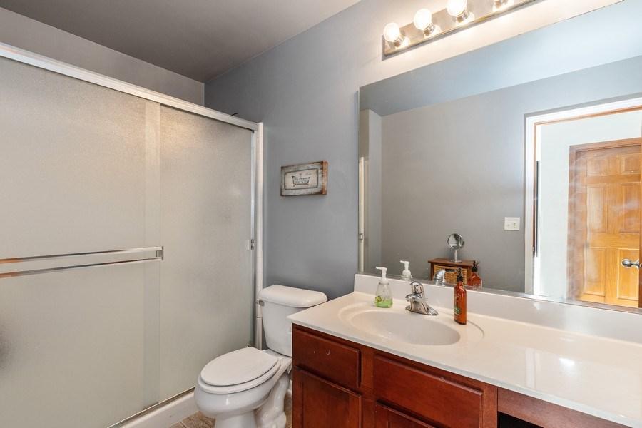 Real Estate Photography - 361 S. Litchfield Drive, Unit 361, Round Lake, IL, 60073 - Master Bathroom