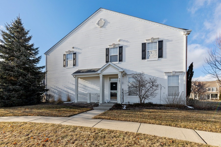 Real Estate Photography - 361 S. Litchfield Drive, Unit 361, Round Lake, IL, 60073 - Front View