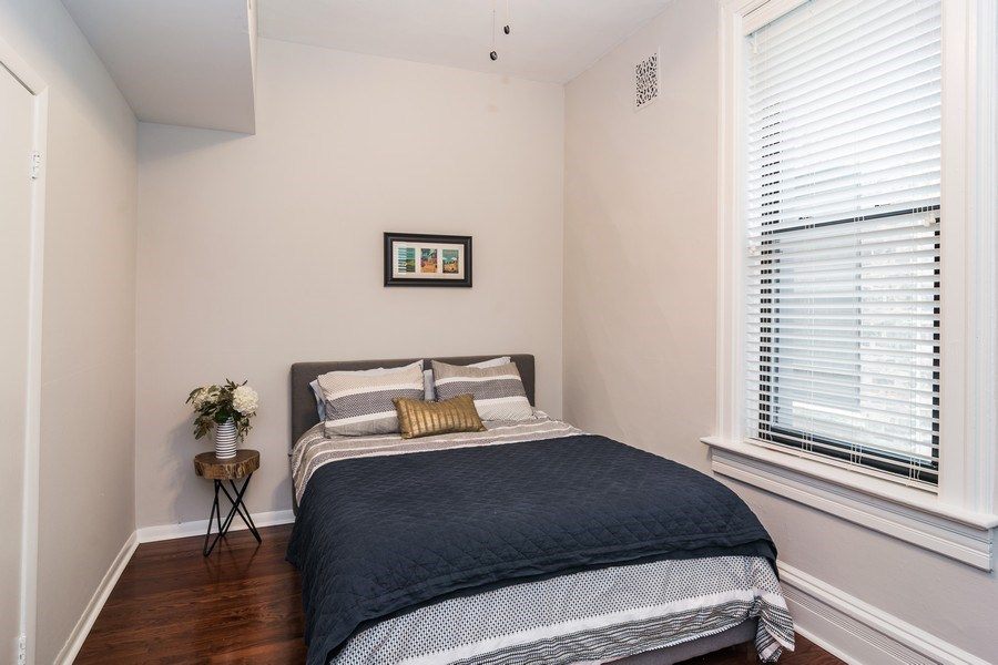Real Estate Photography - 2121 N. Sheffield Avenue, Unit 2W, Chicago, IL, 60614 - 2nd Bedroom