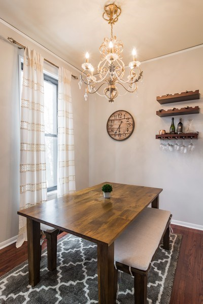 Real Estate Photography - 2121 N. Sheffield Avenue, Unit 2W, Chicago, IL, 60614 - Dining Room