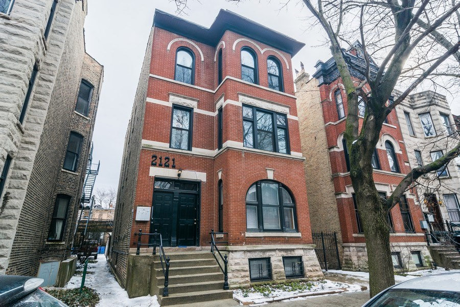 Real Estate Photography - 2121 N. Sheffield Avenue, Unit 2W, Chicago, IL, 60614 - Front View