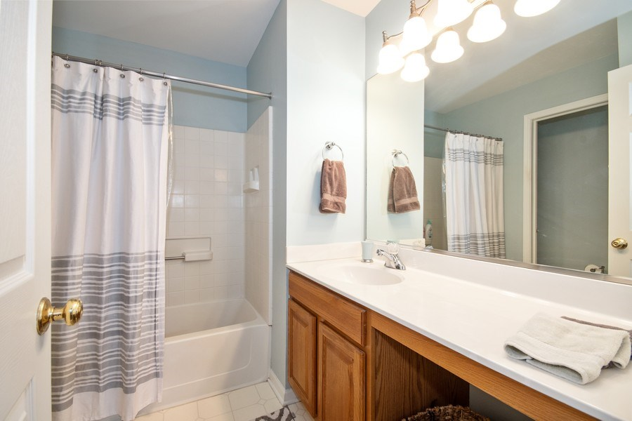Real Estate Photography - 109 Ainsley Drive, West Chicago, IL, 60185 - Master Bathroom