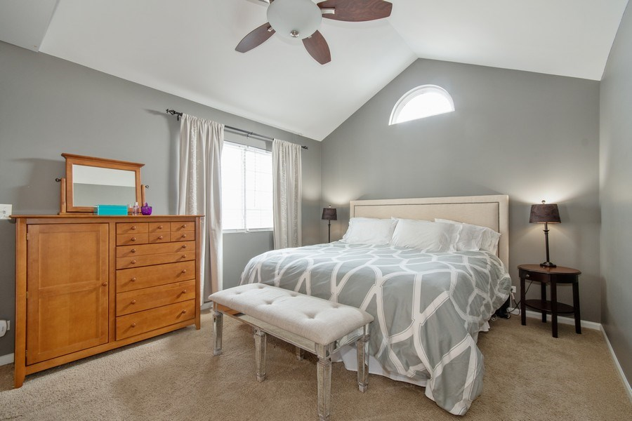 Real Estate Photography - 109 Ainsley Drive, West Chicago, IL, 60185 - Master Bedroom