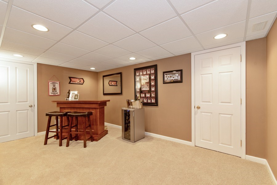 Real Estate Photography - 109 Ainsley Drive, West Chicago, IL, 60185 - Family Room