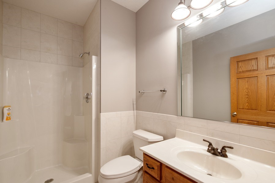 Real Estate Photography - 1043 Devonshire Drive, Sycamore, IL, 60178 - First Floor Full Bath