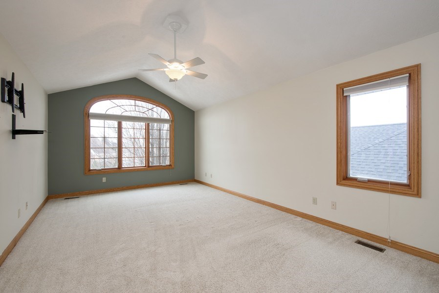 Real Estate Photography - 1043 Devonshire Drive, Sycamore, IL, 60178 - Master Bedroom
