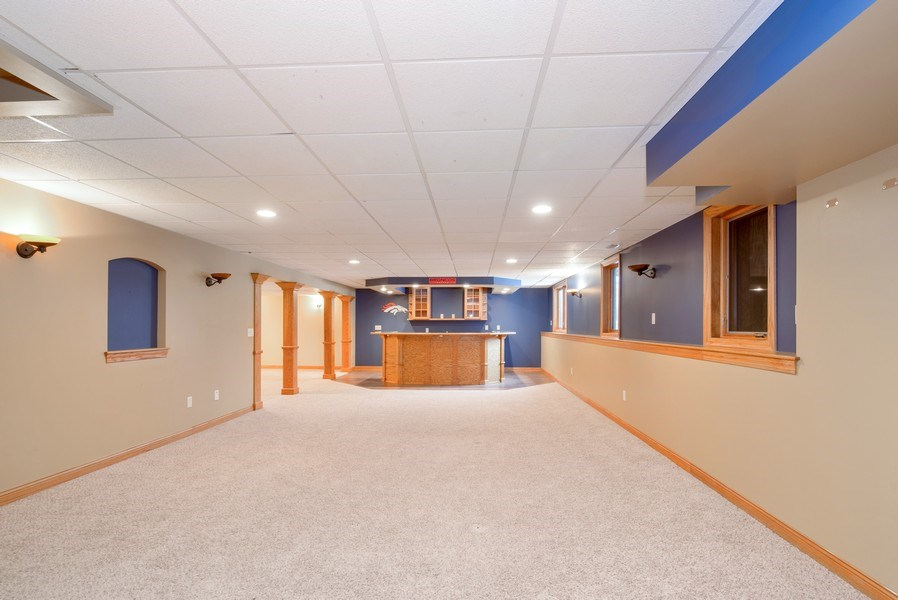 Real Estate Photography - 1043 Devonshire Drive, Sycamore, IL, 60178 - Basement