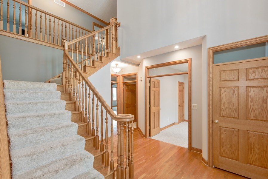 Real Estate Photography - 1043 Devonshire Drive, Sycamore, IL, 60178 - Staircase