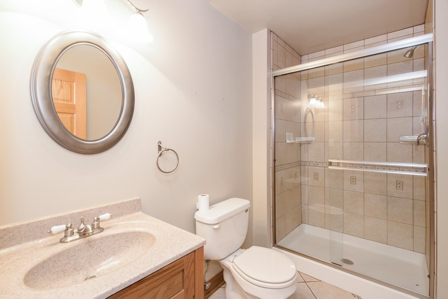 Real Estate Photography - 1043 Devonshire Drive, Sycamore, IL, 60178 - 2nd Bathroom