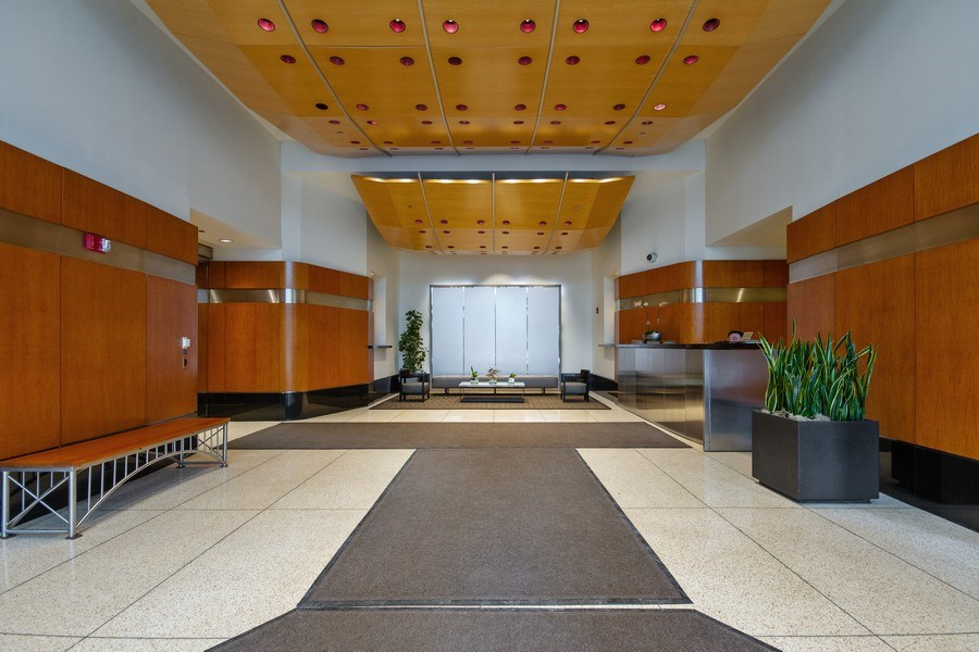 Real Estate Photography - 512 N. Mcclurg Court, Unit 1603, Chicago, IL, 60611 - Lobby