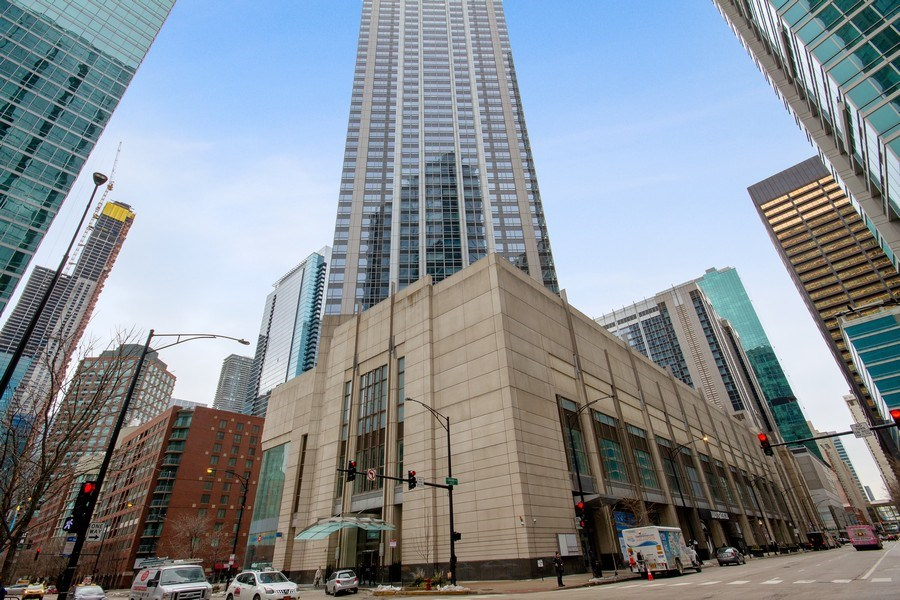 Real Estate Photography - 512 N. Mcclurg Court, Unit 1603, Chicago, IL, 60611 - Front View