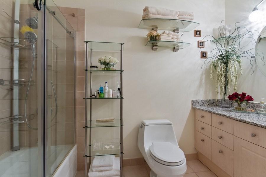 Real Estate Photography - 512 N. Mcclurg Court, Unit 1603, Chicago, IL, 60611 - Bathroom