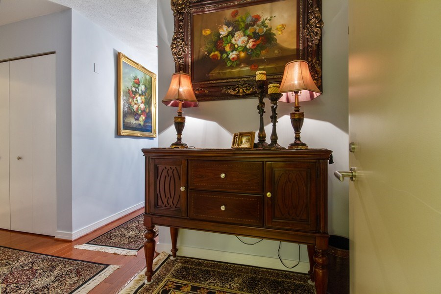 Real Estate Photography - 512 N. Mcclurg Court, Unit 1603, Chicago, IL, 60611 - Entryway