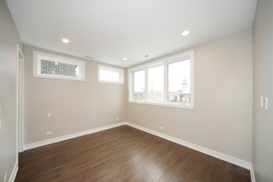Real Estate Photography - 1466 W. Winona Street, Unit 3, Chicago, IL, 60640 - Master Bedroom