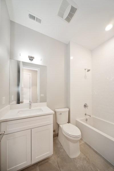 Real Estate Photography - 1466 W. Winona Street, Unit 3, Chicago, IL, 60640 - Bathroom