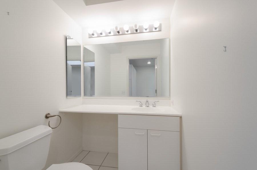 Real Estate Photography - 705 11th Street, Unit 405, Wilmette, IL, 60091 - Powder Room