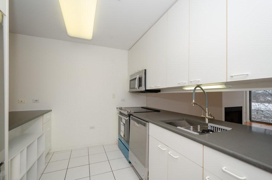 Real Estate Photography - 705 11th Street, Unit 405, Wilmette, IL, 60091 - Kitchen