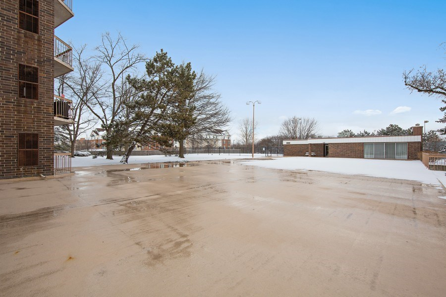 Real Estate Photography - 2201 S. Grace Street, Unit 507, Lombard, IL, 60148 - Clubhouse, Outdoor Pool, Play Area