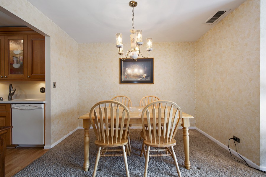 Real Estate Photography - 2201 S. Grace Street, Unit 507, Lombard, IL, 60148 - Dining Room