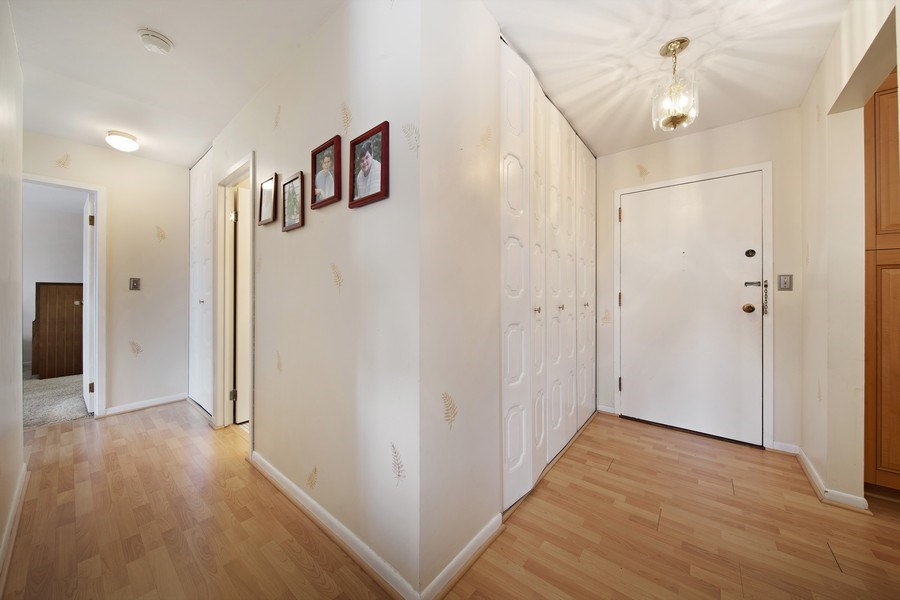 Real Estate Photography - 2201 S. Grace Street, Unit 507, Lombard, IL, 60148 - Foyer