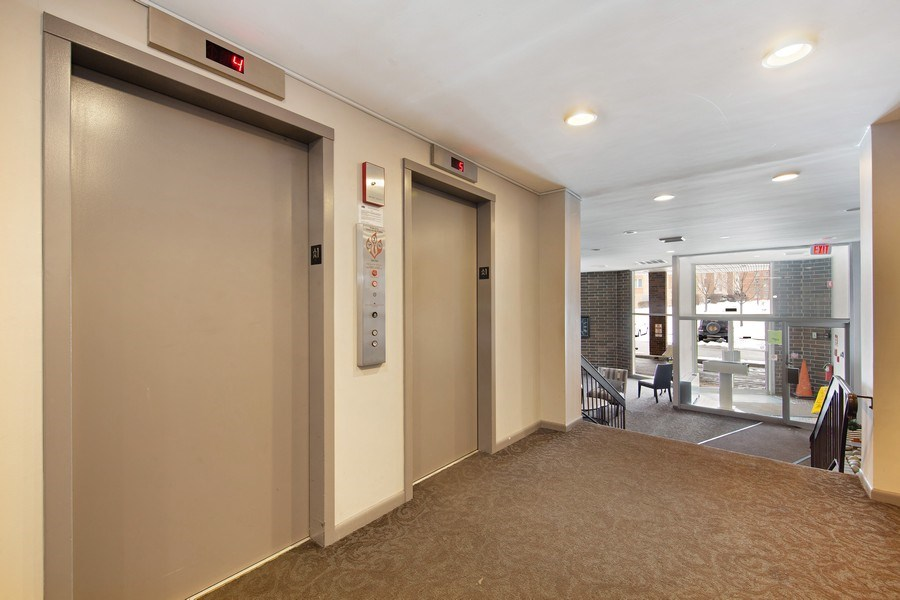Real Estate Photography - 2201 S. Grace Street, Unit 507, Lombard, IL, 60148 - Lobby