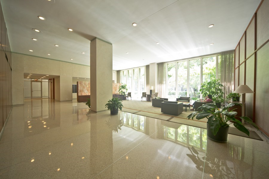 Real Estate Photography - 3550 N. Lake Shore Drive, Unit 2311, Chicago, IL, 60657 - Lobby
