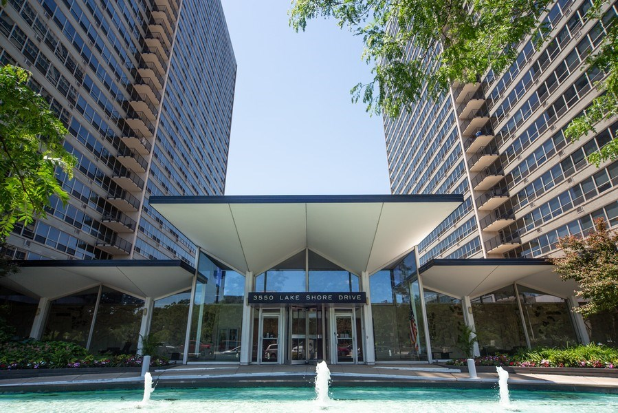 Real Estate Photography - 3550 N. Lake Shore Drive, Unit 2311, Chicago, IL, 60657 - Front View