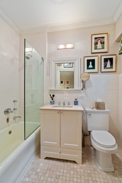 Real Estate Photography - 230 E. Delaware Place, Unit 6E, Chicago, IL, 60611 - Master Bathroom