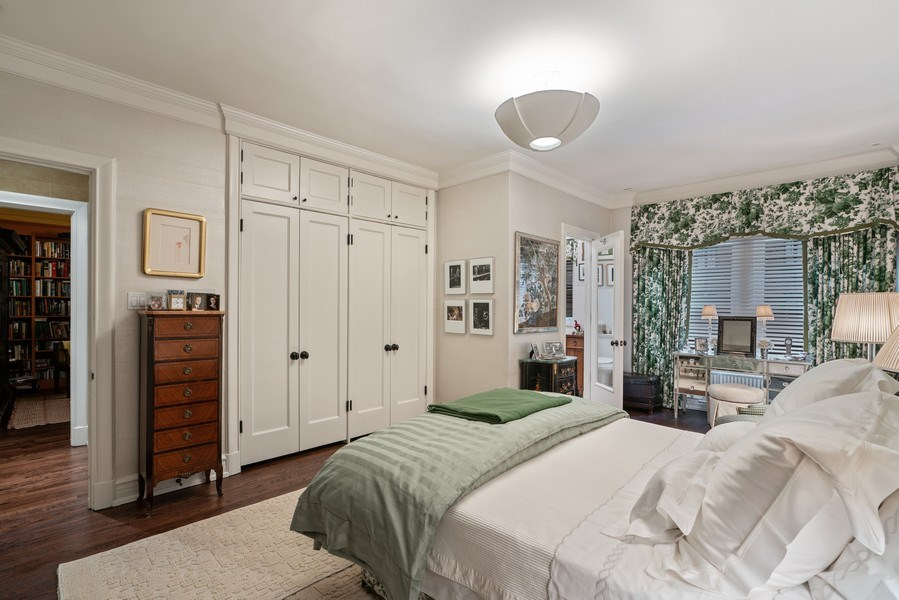 Real Estate Photography - 230 E. Delaware Place, Unit 6E, Chicago, IL, 60611 - Master Bedroom