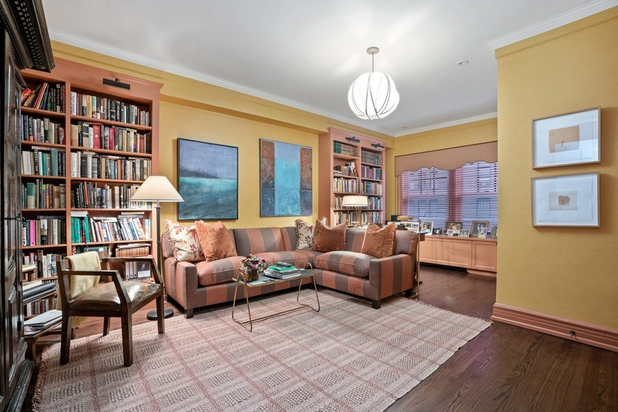 Real Estate Photography - 230 E. Delaware Place, Unit 6E, Chicago, IL, 60611 - 2nd Bedroom/Study