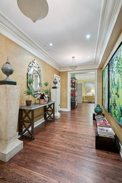 Real Estate Photography - 230 E. Delaware Place, Unit 6E, Chicago, IL, 60611 - Foyer